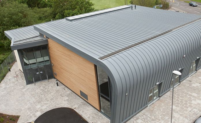 Best Vieozinc Zinc Covered Aluminium Curved Roof 400 x 300