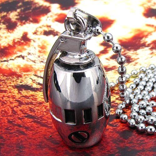 Pandantiv grenada otel inoxidabil