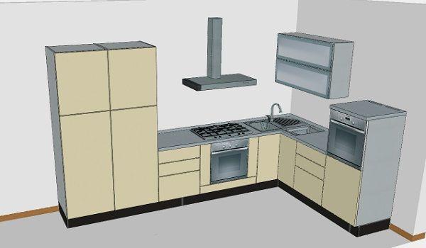 cucine componibili moderne ad angolo - Google Search