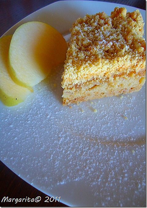 Syntages...apo spiti: Τριφτή μηλόπιτα με άρωμα πορτοκάλι