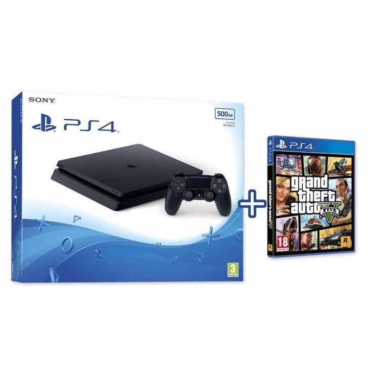 Atento a este pack especial de PS4 + GTA V en The Shop Gamer en eBay. Si nos sigues en Facebook y nos pides por privado un cupón descuento, disfrutarás de 30€ extra de ahorro en este oferta. ¡Con envío GRATIS pero solo hasta mañana viernes!