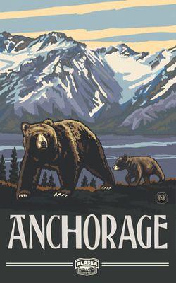 PAL-0266 AKG Anchorage Alaska Grizzlies