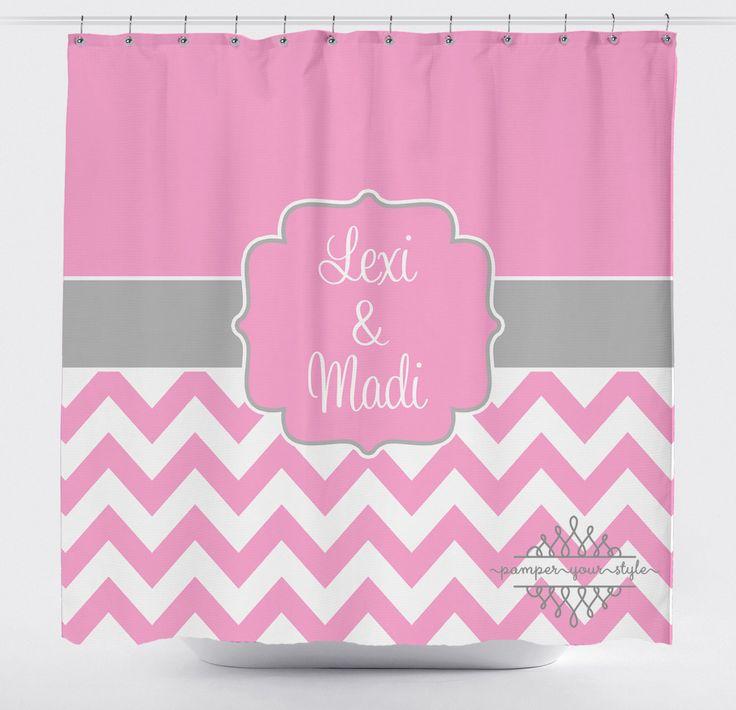 Best  Pink Shower Curtains Ideas On Pinterest Pink Showers - Pale pink shower curtain