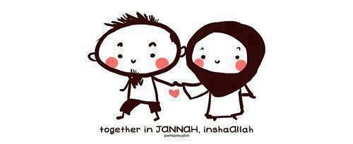 Ya Allah grant me someone who hold my hand to your Jannah; Ameen