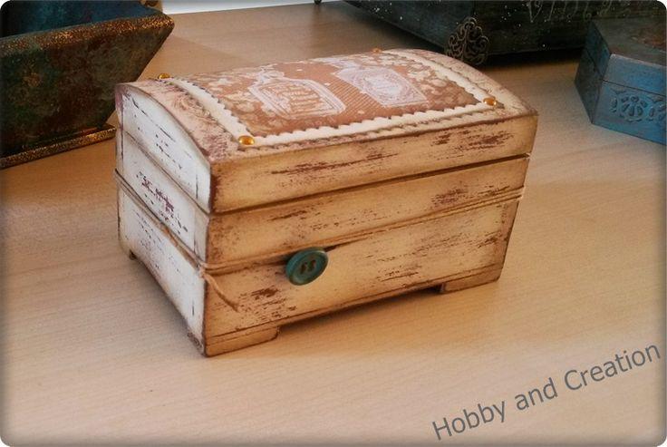 Κουτί με scrapbooking