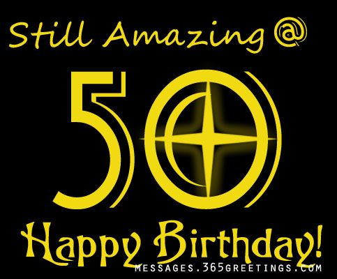50th Birthday Wishes and Messages – 50 Years Birthday Greetings