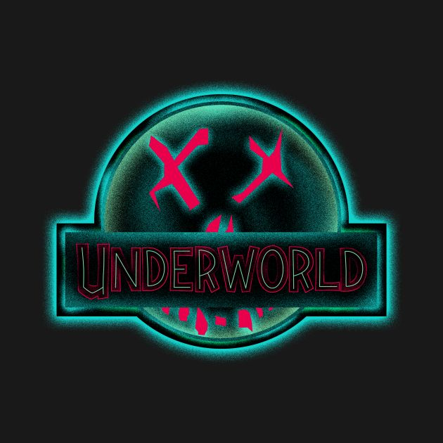 Awesome 'Underworld' design on TeePublic!