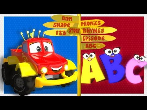 Monster Truck Dan - ABC SONG | Alphabet Song - YouTube