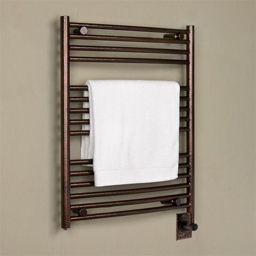 24 Bergama Hardwired Towel Warmer Towels Wall Mount And Towel Rail