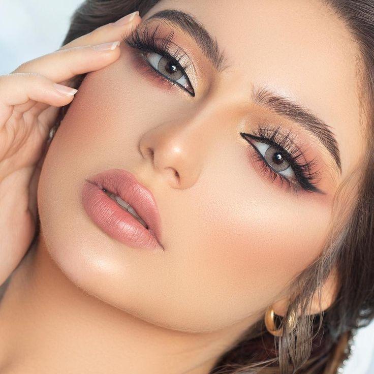 Pin By Ameen Nabi 12786 On Maquillaje Tocados Accesorios Peinados Bridal Hair And Makeup Makeup For Green Eyes Wedding Makeup Tips