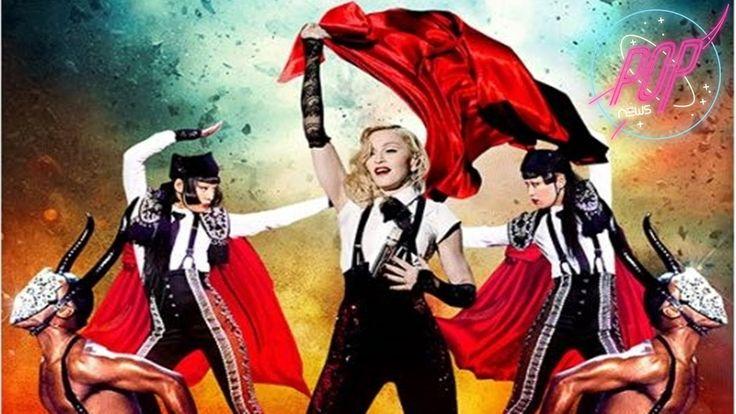 cool Madonna anuncia su Rebel Heart Tour en DVD/CD y Bluray