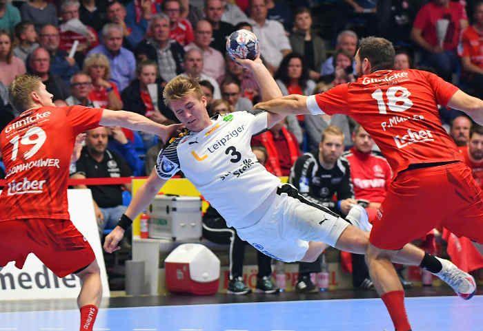 Der SC DHfK Leipzig empfängt am Sonntag im Verfolger-Duell der Spitzen-Teams von Rhein-Neckar Löwen und Füchse Berlin in der Handball Bundesliga um 15 Uhr die MT Melsungen.