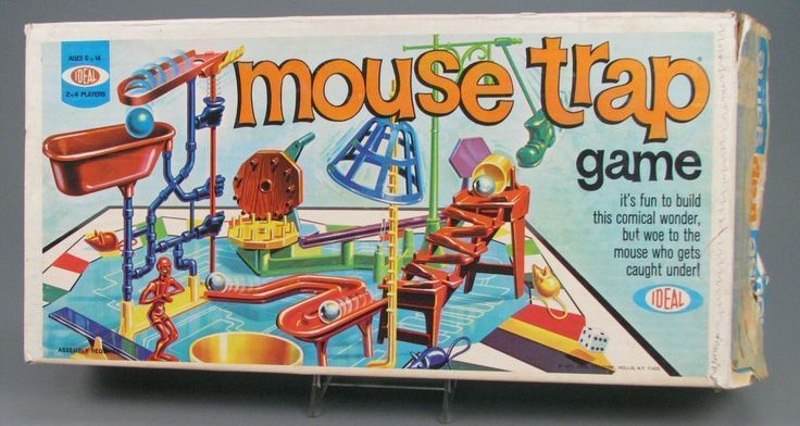 108.3244: Mouse Trap Game | board game | Board Games | Games | Online Collections | The Strong