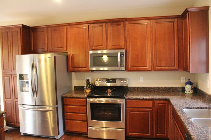 brown colored kitchen appliances a gorgeous jefferson kitchen with stainless steel 4935