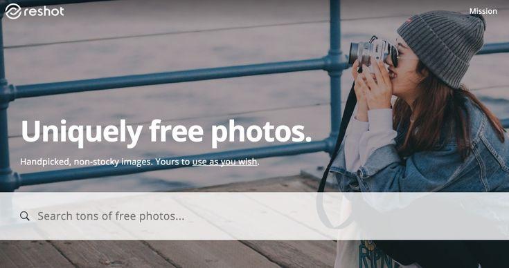 3 banques d'images gratuites pour toutes vos créations : Reshot Pexels AllTheFreeStock
