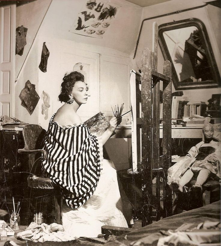 "Bohemian ""It Girl"" of Paris, master of surrealist disguise and generally a badass female libertine, Leonor Fini was one of the most photographed people of the 20th century."