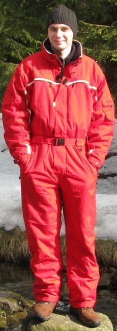 Kombinezon narciarski jednoczęściowy