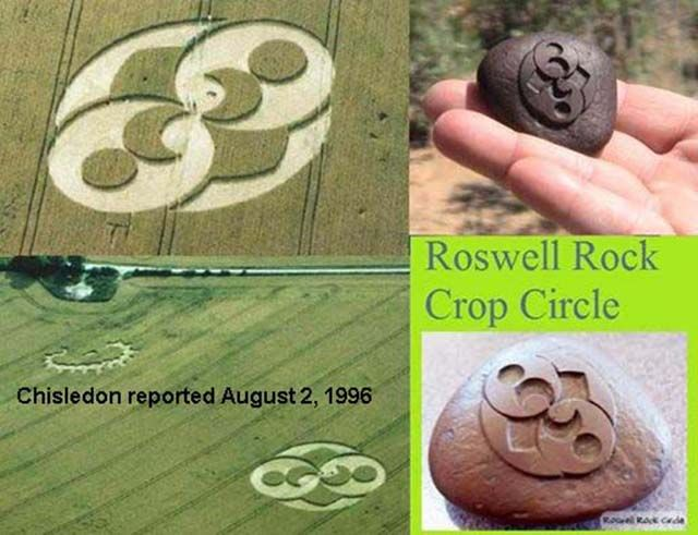 Crop Circle Adventures 2014 - Roswell Rock and Crop Circle