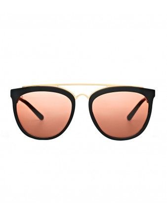 Smoke & Mirrors Tinted Sunglasses - Shop more essentials you can wear year-round: http://shop.harpersbazaar.com/trends/the-shopping-list-1