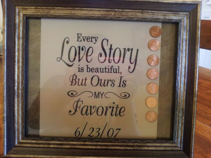 7th Wedding Anniversary Gift Idea For Copper Valent Pinterest