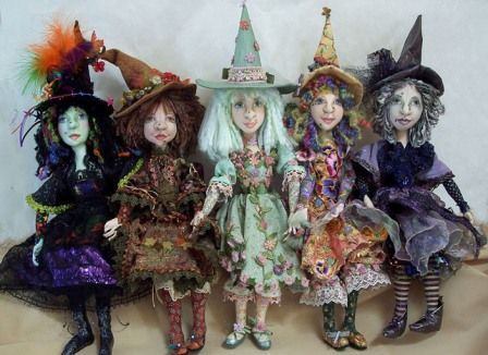 - Year of the Witch - Doll Street Dreamers -online doll classes, e-patterns, mixed media art classes, free doll patterns and more