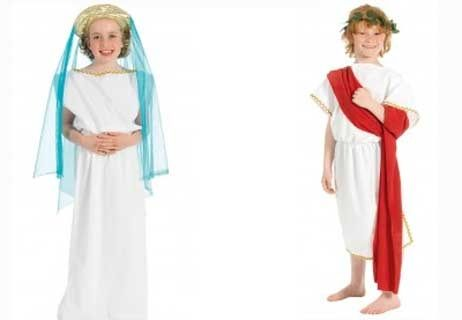 Ancient Greek clothing for kids