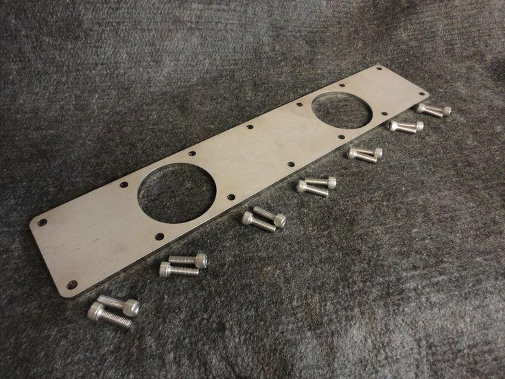 TWIN!!! Cummins Turbo Diesel 6BT 5.9L 12 & 24 valve Custom Intake Manifold Plate