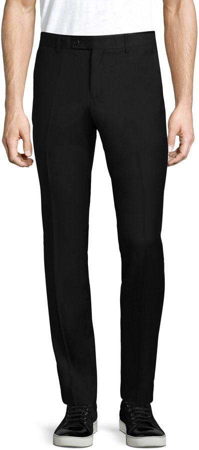 Paisley & Gray Men's Slim Satin Tuxedo Pants