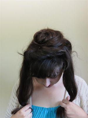 Black Spruce Hound: Gibson Girl Hair Tutorial : A More Elaborate Version
