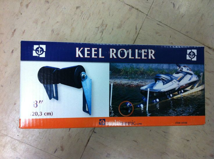 Multinautic 34106 KEEL ROLLER KIT 8  EIGHT INCH DOCK HARDWARE guide boats NEW