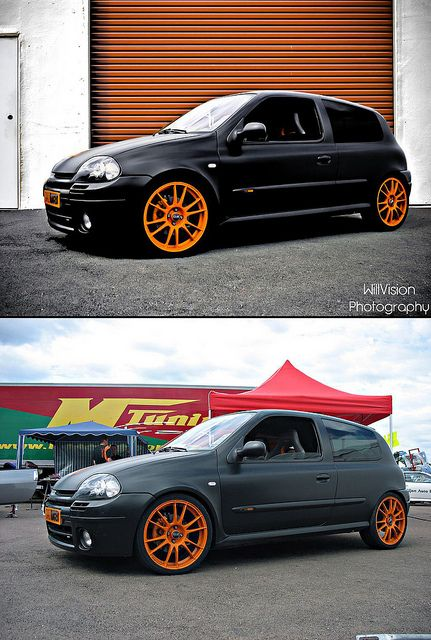 "Renault Clio RS ""Daily Racer"" - Before / After by WillVision Photography, via Flickr"