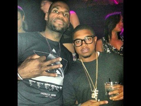 LeBron James Wearing Illuminati T-Shirt at Miami Club Mark Dice's theory...