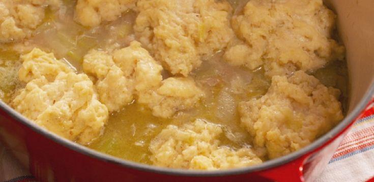 Farm-Style Chicken and Drop Dumplings By Nancy Fuller