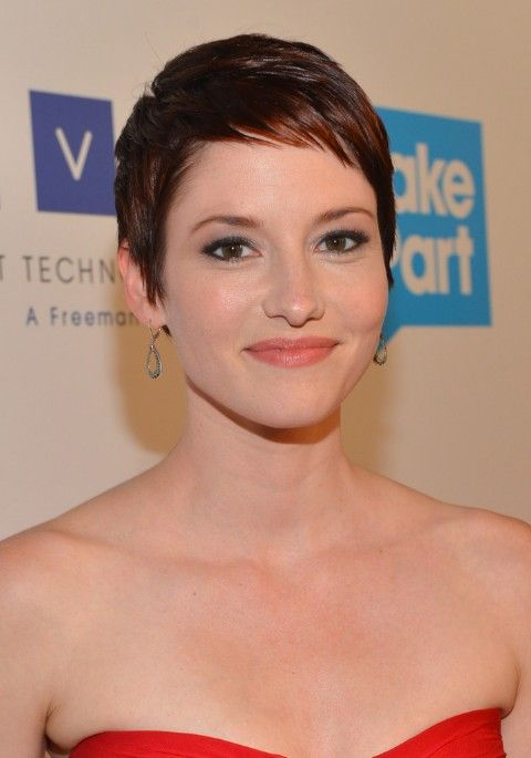 Short Pixie Haircut for Fine Hair - Chyler Leigh Short Hairstyles