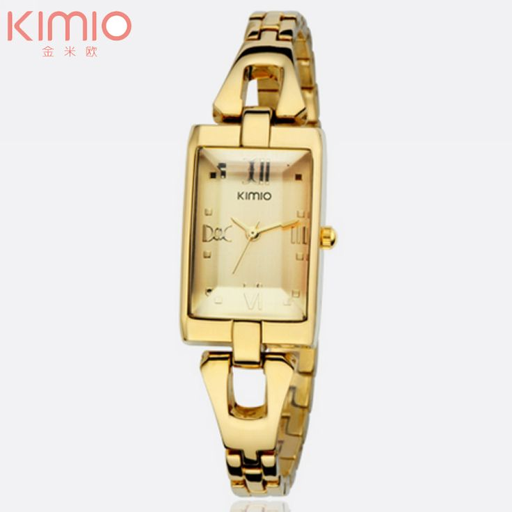 Cheap watch stainless, Buy Quality watch with directly from China wristwatch women Suppliers:                     Kimio Brand Watch Lady Square Crystal Cover Charm Women Bracelet Watches Fashion Casual Dress