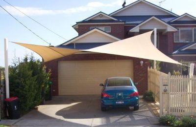 driveway shade sail - Google Search