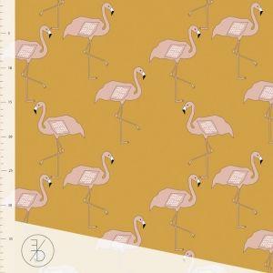 Prisen er pr 10 cm, for 1 m velg antall 10 osv. Nydelig økologisk Single Jersey fra Elvelyckan Design. Bredde 165 cm 95% Bomull - 5% lycra Vask 40 grader, krymp ca 5% kan forekomme
