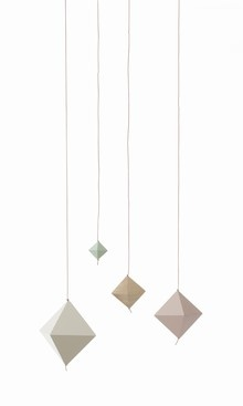 Cubes On String