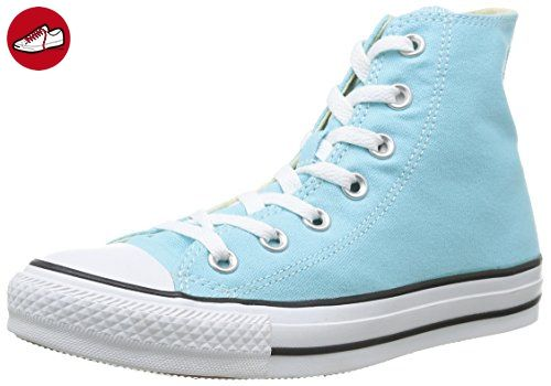 Converse Chuck Taylor All Star Season Hi Sneaker, Türkis - Turquoise, 42.5 EU - Converse schuhe (*Partner-Link)