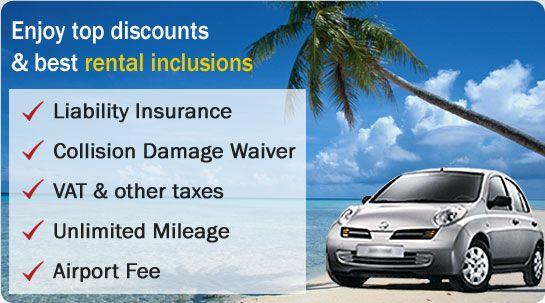 Discounted car rental deals worldwide.  #carrental