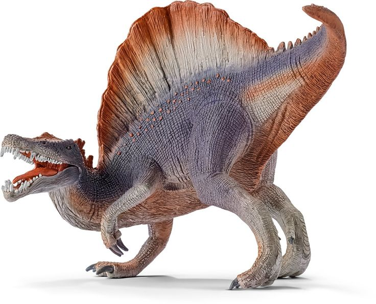 Amazon.com: Schleich Spinosaurus Toy Figure, Violet: Toys & Games