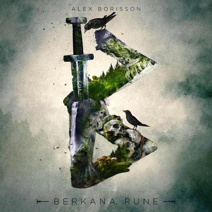 Berkana Rune by UI Viking (Alex Borisson)