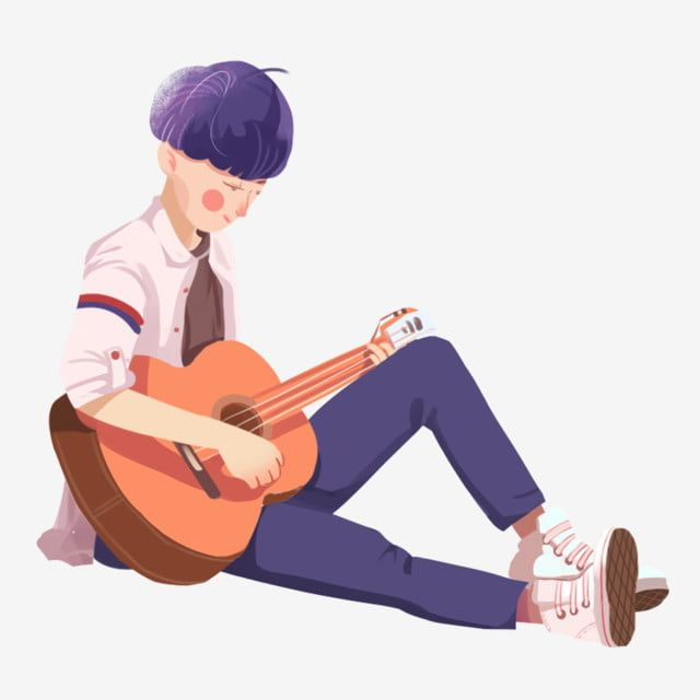 Adolescente Tocando Guitarra Dibujos Animados Color Tocando Guitarra Chico Tocando Png Y Psd Para Descargar Gratis Pngtree Dibujos De Guitarras Chicas Tocando Guitarra Dibujos