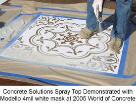 Lowes Concrete Patio Stencil - 0425