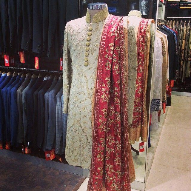 #sherwani#wedding#luxury#dausala#stole#bespoke#groomwear#experience#@gujralsons