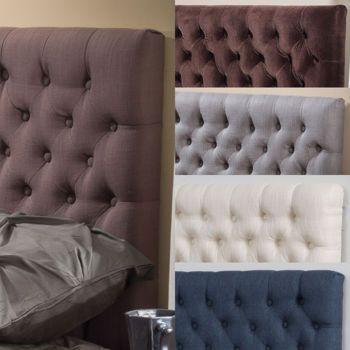 Nova – Tête de lit capitonnée pour grand lit et lit 2 places