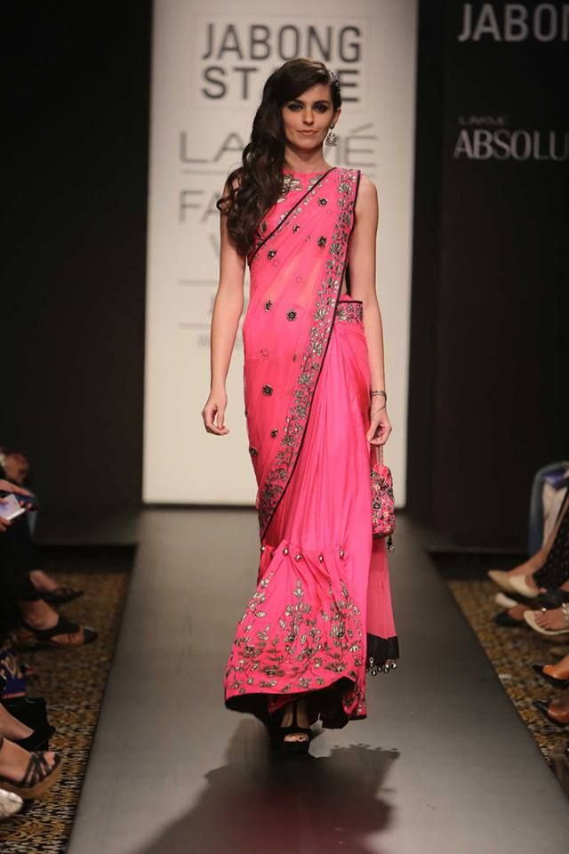Arpita Mehta .. an explosion of pinks