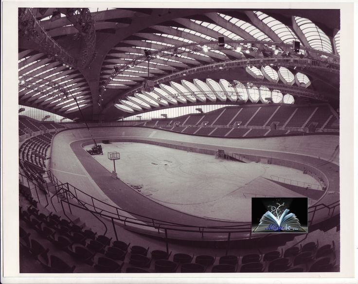 Quite possibly the most magnificent Velodrome ever built. The Montreal Olympic Velodrome. (Montreal, Canada.)