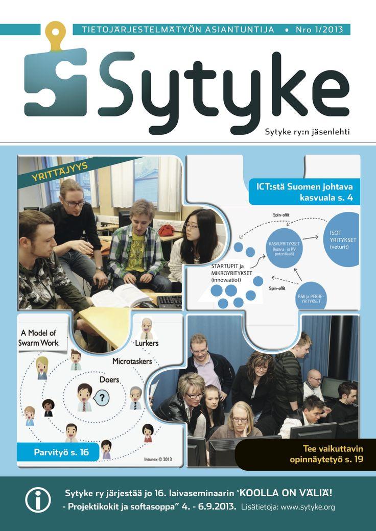 Parvityö – uusi tapa organisoitua, jakaa osaamista ja tehdä yhteistyötä | Sytyke 01/2013