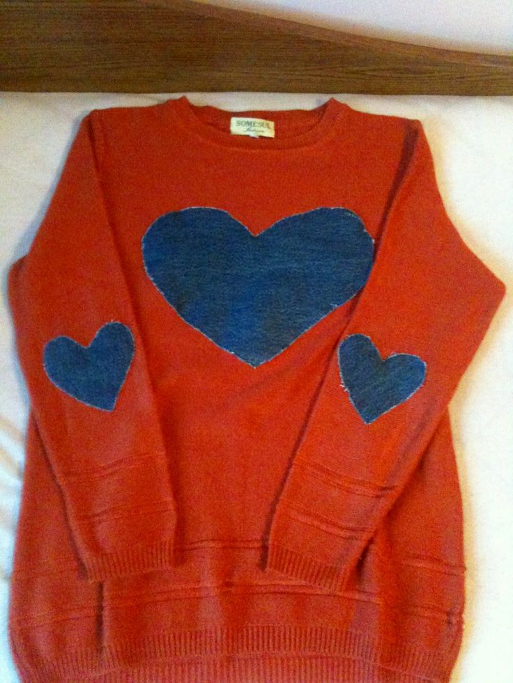 Done it myself 2# Jeans Hearts